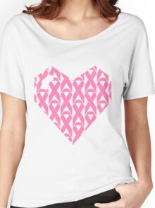 Breast Cancer Love n Support Women's Relaxed Fit T-Shirt