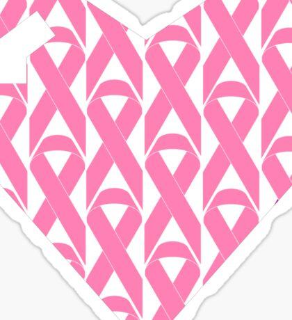 Breast Cancer Love n Support Sticker
