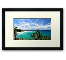 FRENCHMANS BEACH ON NORTH STRADBROEK ISLAND Framed Print