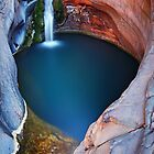Spa Pool #2 - Karijini N.P.   Western Australia by Mark Shean