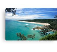 MAIN BEACH AT NORTH STRADBROKE ISLAND Canvas Print