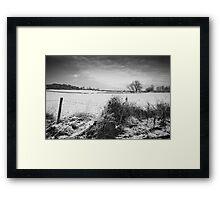 Near Saddington Framed Print