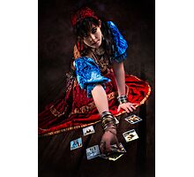 Gipsy Tarot Magic Photographic Print