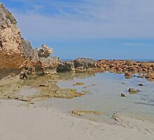 The Rockpool at Stokes Bay by Graeme  Hyde