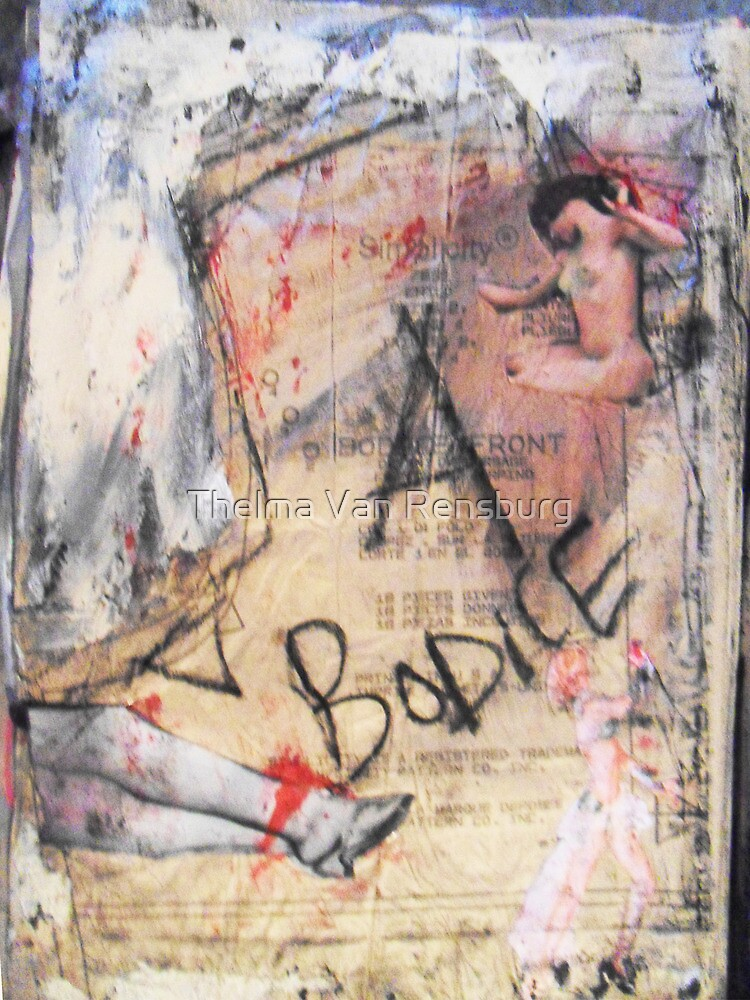 bodice, 2010 by Thelma Van Rensburg