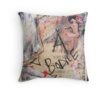 bodice, 2010 Throw Pillow