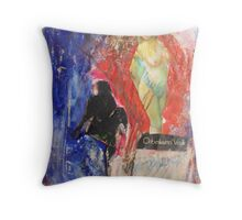 feminine, 2010 Throw Pillow