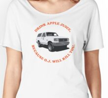 Drink Apple Juice Women's Relaxed Fit T-Shirt
