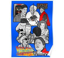 back to the future 30th anniversary tribute bttf Poster