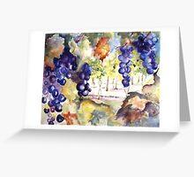 In the Vineyard Greeting Card