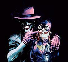 The Joker - Batgirl / Batman The Killing Joke by ekimMantis