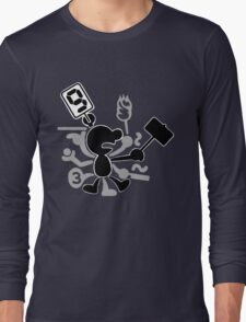 Mr. Game & Watch Long Sleeve T-Shirt