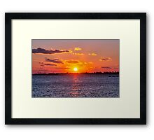 Sublime Sunset Framed Print