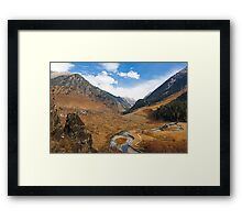 Betaab Valley Framed Print