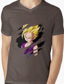 kid gohan super saiyan 2 anime manga shirt Mens V-Neck T-Shirt