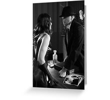 The Last Confrontation  Greeting Card
