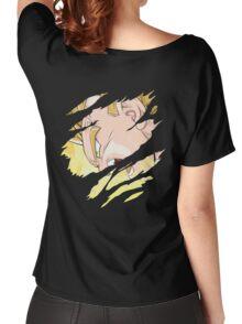 vegeta vs buu anime manga shirt Women's Relaxed Fit T-Shirt