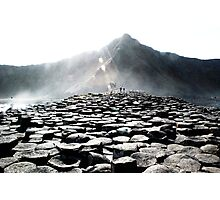Giants Causeway Rocks Photographic Print