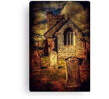 Beercrocombe Church Canvas Print