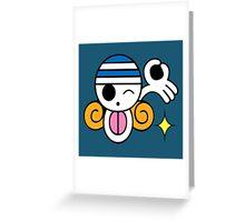 cute pirates Greeting Card