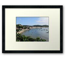 Buzios Framed Print