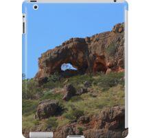 Keyhole in a rugged landscape iPad Case/Skin