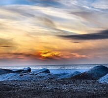 Lake Erie In January II by Sheri Nye