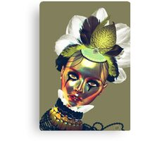 Lady Gold Canvas Print