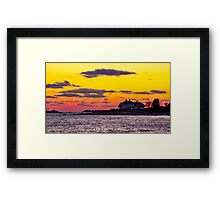 Million Dollar View Framed Print