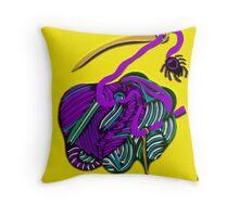 lio amarillo Throw Pillow
