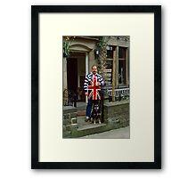 English B&B 1980s Framed Print