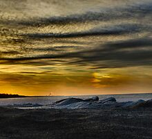 Lake Erie In January V by Sheri Nye