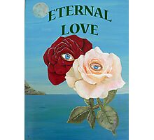 ETERNAL LOVE, ROSES Photographic Print