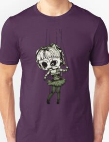 Marionette Skull Doll Unisex T-Shirt