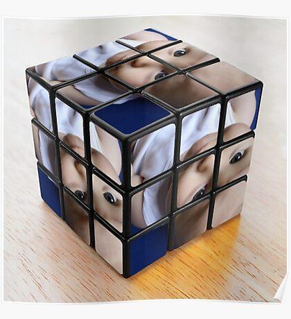 cube boy Poster