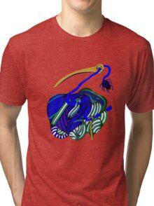 lio indigo Tri-blend T-Shirt