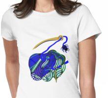 lio indigo Womens Fitted T-Shirt