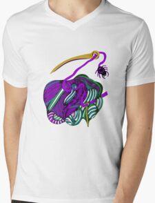 lio lila Mens V-Neck T-Shirt