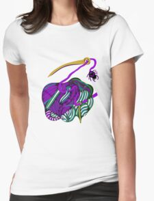 lio lila Womens Fitted T-Shirt