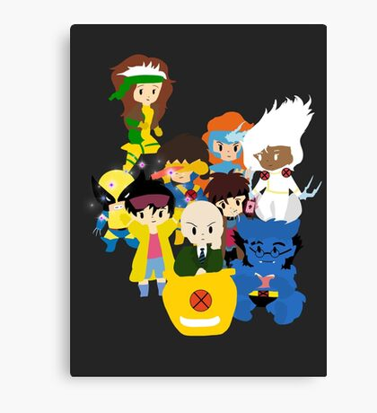 Classic X-men Canvas Print