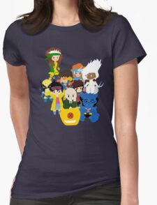 Classic X-men Womens Fitted T-Shirt