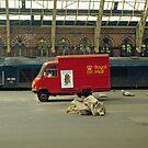 The old St. Pancras, London, 1970s. by David A. L. Davies