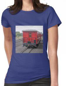 Cumbres & Toltec Passenger Car Womens Fitted T-Shirt