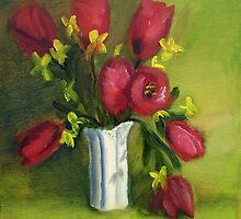 Tulips 3 by AJ  Devlin