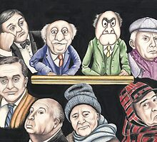 Grumpy old Men by Margaret Sanderson
