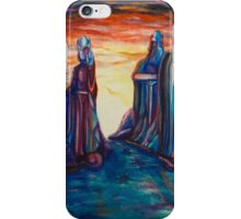 Pillars of the Kings iPhone Case/Skin