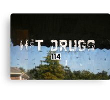 H&T Drugs Canvas Print
