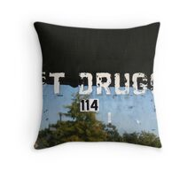 H&T Drugs Throw Pillow