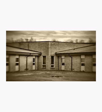 Elementary School (detail) Photographic Print