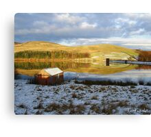 Glenkiln Reservoir SW Scotland Canvas Print